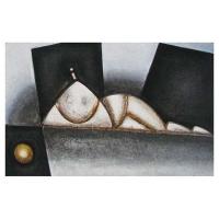 """""""Adoration II"""" - 20"""" X 32'' - Acrylique sur panneau - 2011"""