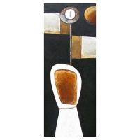 """""""Messager"""" - 34"""" X 14'' - Acrylique sur panneau - 2011"""