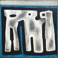 ''Ames anciennes''-Acrylique sur panneau-36''x36''-2017