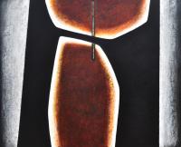 Deux-planetes-inconnues-40x48-Acrylique-sur-toile-2020