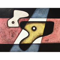 ''Nuances''Acrylique sur panneau-36''48''-2017