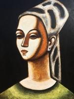 ''Sevan''Acrylique sur panneau-32''x24''-2016