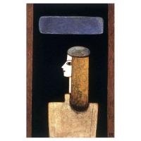 """""""Profil"""" - 36"""" X 24"""" - Acrylique sur panneau - 2004"""