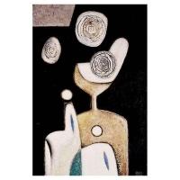 """""""Peinture"""" - Acrylique sur panneau -2004"""