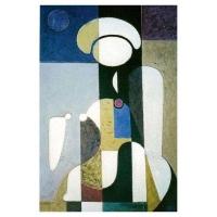 """""""Peinture"""" - Acrylique sur panneau -2002"""