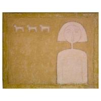 """""""Peinture"""" - Acrylique sur panneau -1998"""