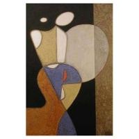 """""""Peinture"""" - Acrylique sur panneau -2000"""